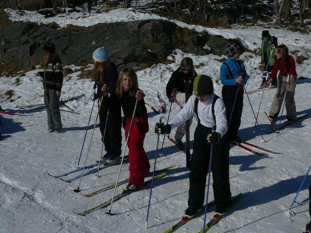 skidag på skolen
